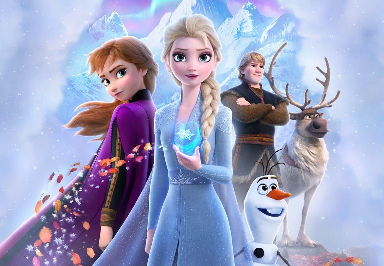 アナと雪の女王2のビジュアル