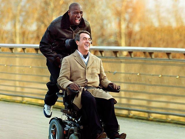 映画「最強のふたり」のドリスとフィリップ